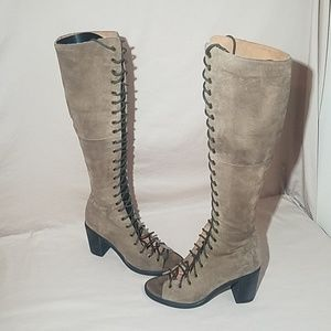 Jeffrey Campbell Free People open toe boot